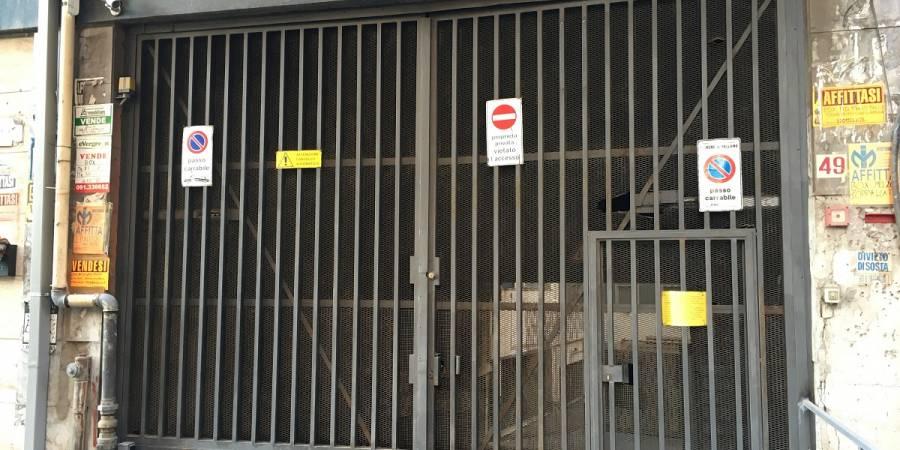 Box garage in vendita in via del granatiere 49 palermo for Garage con soffitta